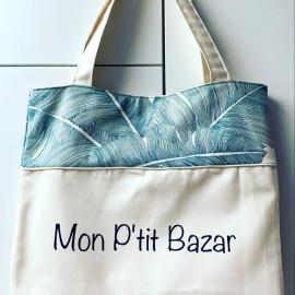 Tote bag Mon Ptit Bazar